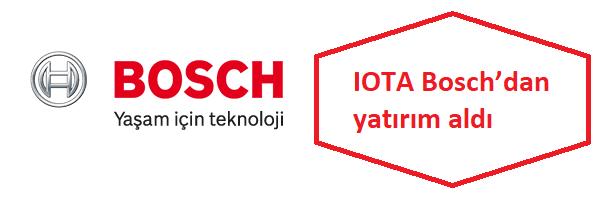bosch iotaya yatırım yaptı