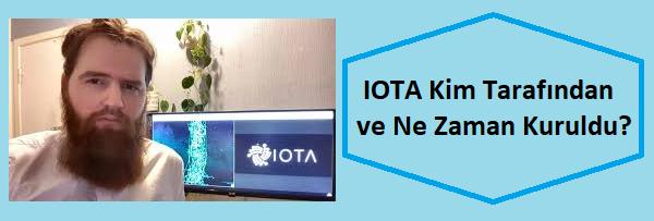 IOTA'yı kim kurdu